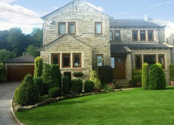 Thumbnail 4 bed detached house for sale in Woodside Lodge, Kirkburton, Huddersfield, West Yorkshire