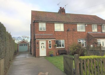 Thumbnail 3 bed semi-detached house for sale in Gracious Street, Huby, York