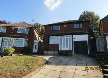 Thumbnail 3 bed detached house to rent in Camplin Crescent, Handsworth Wood, Birmingham