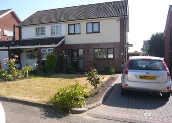 Thumbnail 3 bed semi-detached house to rent in Tamworth Road, Two Gates, Tamworth, Staffordshire