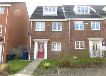 Thumbnail 3 bedroom town house to rent in Skendleby Drive, Kenton, Newcastle Upon Tyne