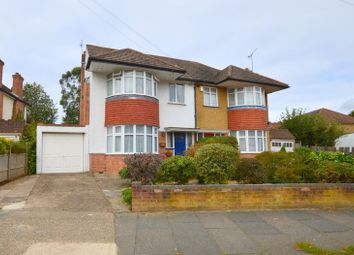 Thumbnail 4 bed semi-detached house for sale in Sylvia Avenue, Hatch End, Pinner