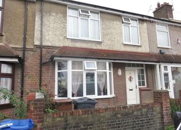Thumbnail 3 bed terraced house to rent in Castle Road, Grays