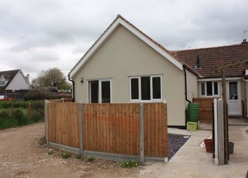 Thumbnail 2 bed semi-detached bungalow to rent in Church End, Dunmow, Essex