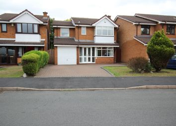 Thumbnail 4 bed detached house for sale in Lochalsh Grove, Willenhall