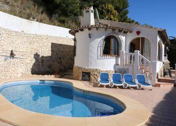 Thumbnail 2 bed villa for sale in Moraira, Alicante, Spain