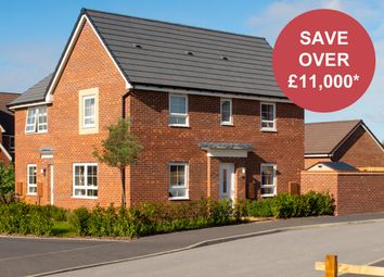 """Thumbnail 3 bed semi-detached house for sale in """"Moresby"""" at Musselburgh Way, Bourne"""