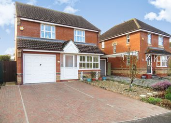 Thumbnail 3 bed detached house for sale in Skipper Road, Pinewood, Ipswich