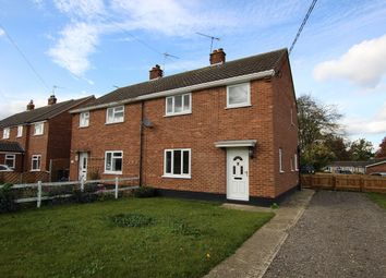 Thumbnail 3 bed semi-detached house for sale in Ducksen Road, Mendlesham, Stowmarket, Suffolk