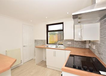 Thumbnail 3 bed terraced house for sale in Corporation Road, Gillingham, Kent