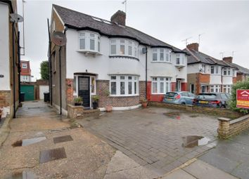 Thumbnail 4 bed semi-detached house for sale in Elmer Close, Enfield