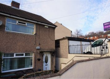 Thumbnail 2 bedroom semi-detached house for sale in Silk Mill Drive, Leeds