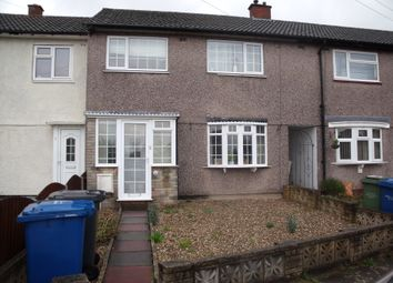 Thumbnail 3 bed terraced house to rent in Burns Road, Leyfields, Tamworth, Staffordshire