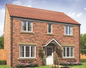Thumbnail 4 bedroom detached house for sale in Portland, 7 Craster Walk, Ashington