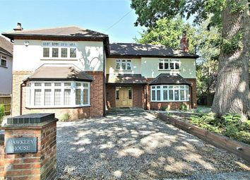 Thumbnail 5 bed detached house for sale in Blackdown Avenue, Pyrford, Woking