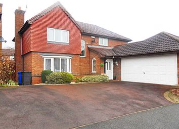 Thumbnail 4 bed detached house for sale in Squires Way, Derby