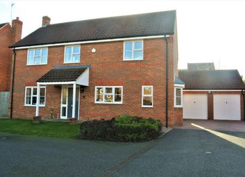 Thumbnail 4 bed detached house for sale in Poppy Place, Bourne, Lincolnshire
