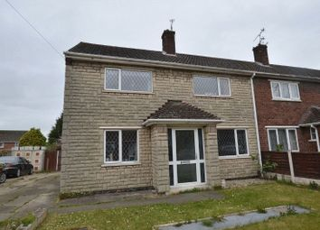 Thumbnail 3 bedroom end terrace house for sale in Salmonby Road, Scunthorpe