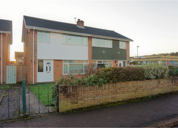 Thumbnail 3 bed semi-detached house for sale in Sandy Lane, Caldicot