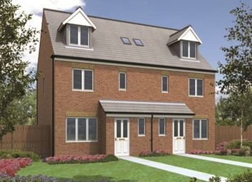 "Thumbnail 4 bed semi-detached house for sale in ""The Penshaw"" at Valleydale, Brierley Road, Blyth"