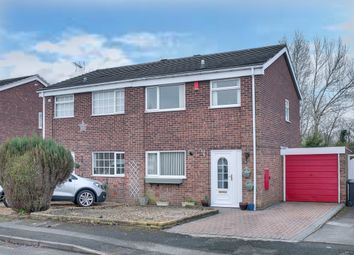 Thumbnail 3 bed semi-detached house for sale in Gaydon Close, Greenlands, Redditch