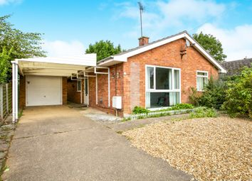 Thumbnail 3 bed detached bungalow for sale in Link Lane, Sutton, Ely
