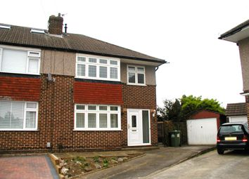 Thumbnail 3 bedroom semi-detached house for sale in Gibbs Close, Cheshunt