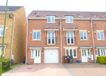 Thumbnail 3 bed town house for sale in Coleridge Way, Elstree, Borehamwood