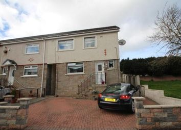Thumbnail 3 bed end terrace house for sale in Clarkston Drive, Airdrie, North Lanarkshire