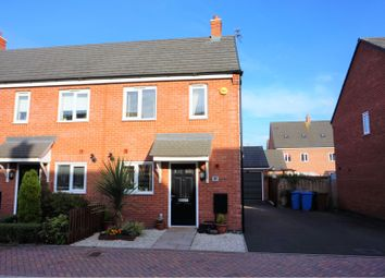 Thumbnail 2 bed end terrace house for sale in Crabtree Avenue, Rugeley