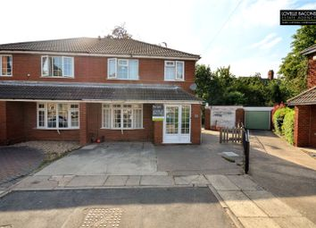 Thumbnail 3 bed end terrace house for sale in Beech Avenue, Scartho, Grimsby