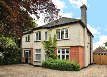 Thumbnail 4 bed detached house for sale in The Avenue, Camberley