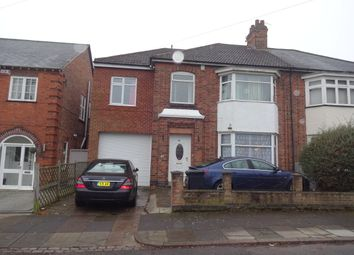 Thumbnail 5 bed semi-detached house for sale in Ashleigh Road, Leicester