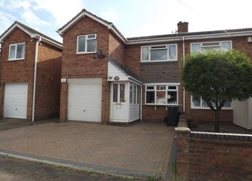 Thumbnail 3 bed semi-detached house for sale in Cottage Road, Sandy, Bedfordshire