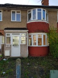 Thumbnail 3 bed terraced house to rent in Sandringham Crescent, Rayners Lane