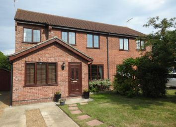 Thumbnail 4 bed semi-detached house for sale in Sunnyfields, Lowestoft