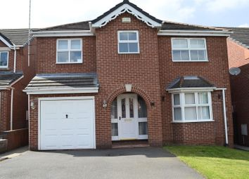 Thumbnail 4 bed detached house for sale in Harebell Close, Woodville, Swadlincote
