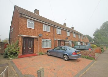 Thumbnail 3 bed end terrace house to rent in Newhouse Crescent, Watford