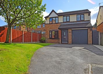 Thumbnail 4 bed detached house for sale in The Moorings, Burnley