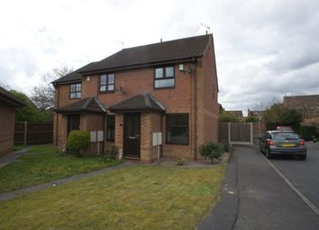 Thumbnail 2 bedroom semi-detached house to rent in Yewdale Grove, Oakwood, Derby