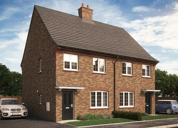 """Thumbnail 3 bed semi-detached house for sale in """"The Millbrook V2"""" at Park Crescent, Stewartby, Bedford"""
