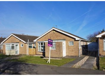 Thumbnail 2 bed detached bungalow for sale in Frome Avenue, Oadby, Leicester