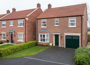 Thumbnail 4 bed detached house for sale in Longbridge Close, Easingwold, York