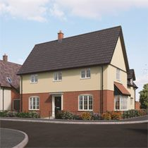 Thumbnail 4 bedroom detached house for sale in Middy Close, Mendlesham