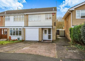 Thumbnail 3 bed semi-detached house for sale in Camborne Close, Congleton