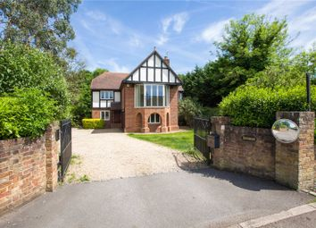Thumbnail 4 bedroom detached house for sale in River Road, Taplow, Maidenhead
