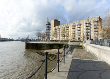 Thumbnail 1 bed flat to rent in Dundee Wharf, 100 Three Colt Street, London