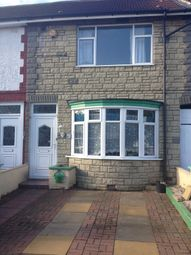 Thumbnail 3 bed terraced house to rent in Clevedon Crescent, Leicester, Leicestershire
