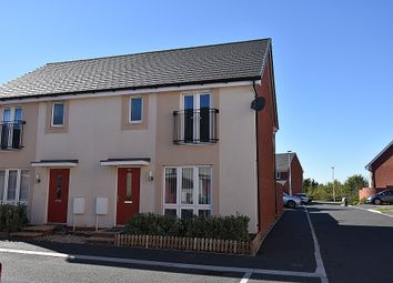 Thumbnail 3 bedroom end terrace house for sale in Summer Meadow, Cranbrook, Near Exeter