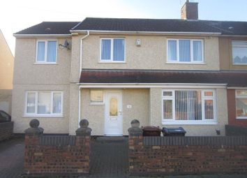 Thumbnail 4 bed semi-detached house for sale in Stourton Road, Kirkby, Liverpool